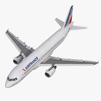Airbus A320 Air France Rigged