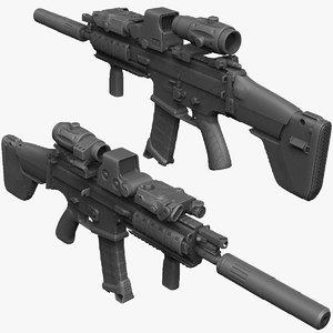 fn scar l-cqc sight 3ds