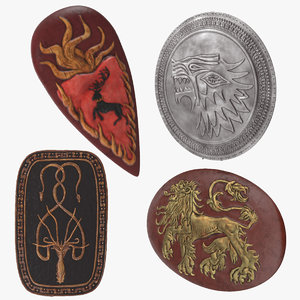 max thrones shields games