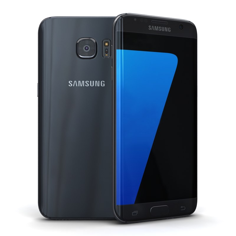 3d samsung galaxy s7 edge model