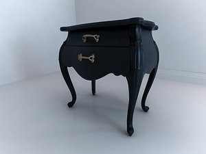 3d model of commode