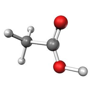 3d acetic acid
