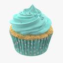 cupcake 3D models