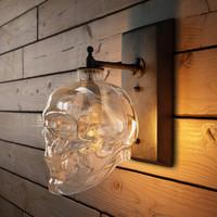 3d skull wall sconce - model