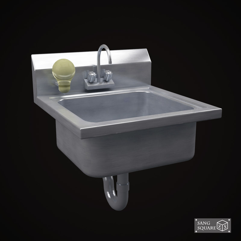 commercial drop hand sink max
