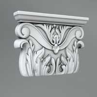 classical decoration ornamental 3d max