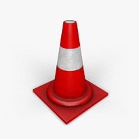 traffic_cone_low_poly