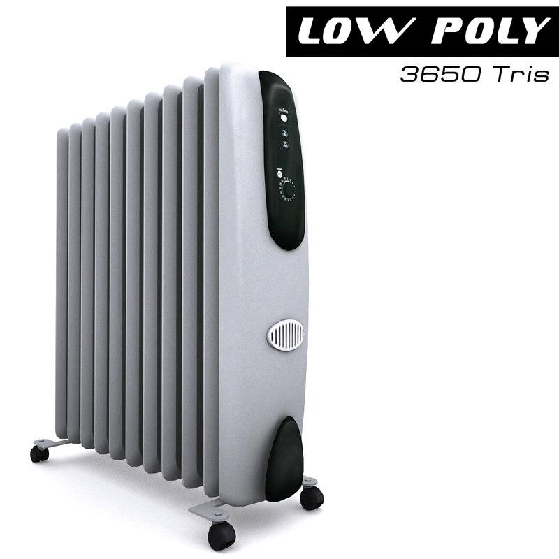 3d model heater ready games