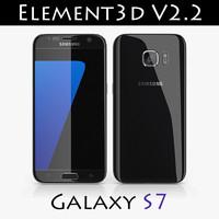 Samsung Galaxy S7 Element3D V2.2
