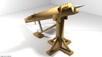 ballista siege medieval 3d 3ds