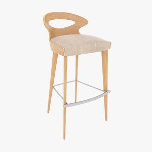paddle stool obj