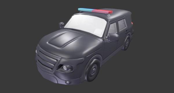 fbx police suv