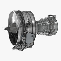 Turbofan Aircraft Engine CFM International CFM56