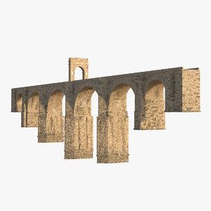 3d model alcantara bridge
