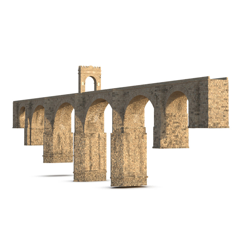 3d model alcantara bridge
