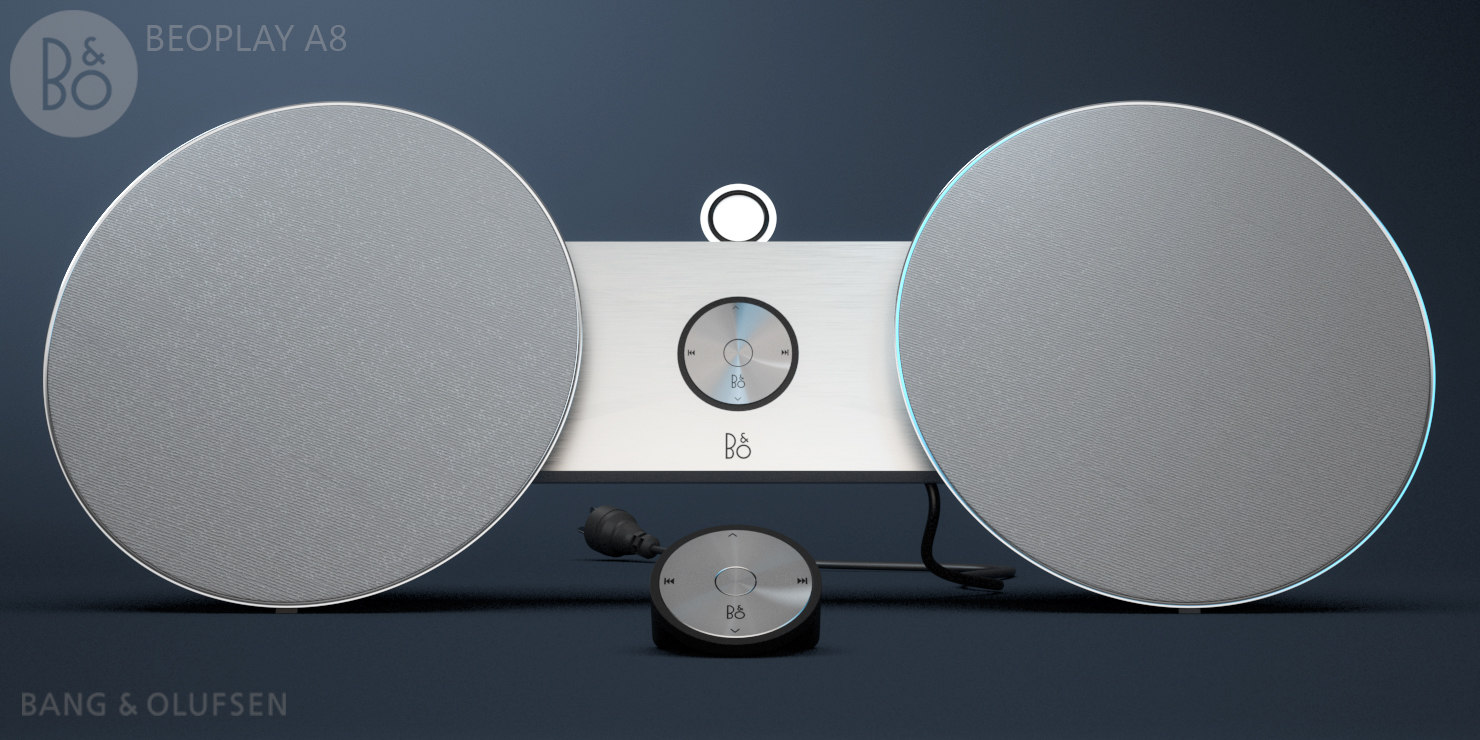 beoplay a8 3d model