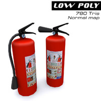 3d extinguishers ready games model