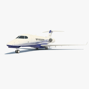 3d cessna citation longitude model