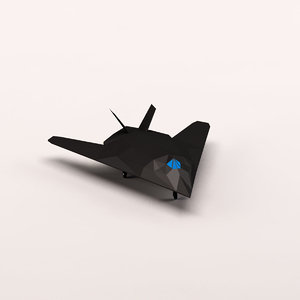 max cartoon stealth bomber