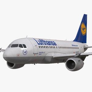 max airbus a318 lufthansa rigged