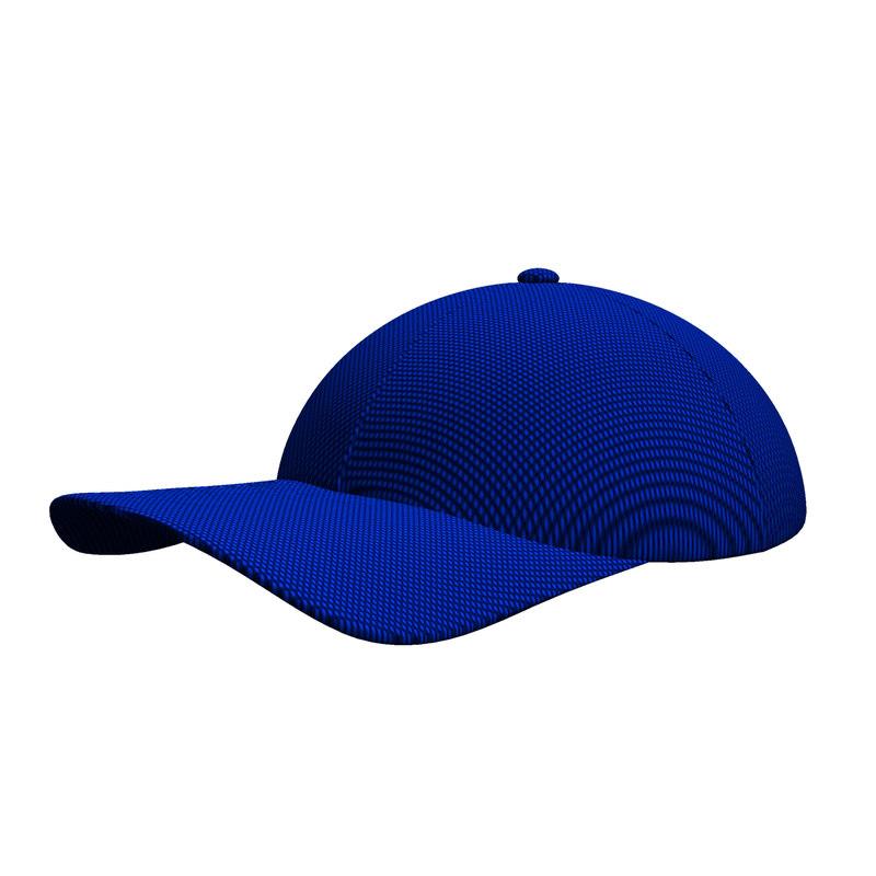 3d model casual cap