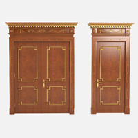 luxury doors 3d model