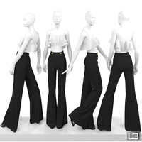 3d woman mannequin model