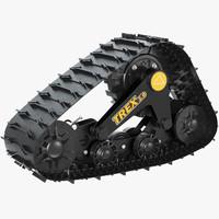 3d max track kit commander trex