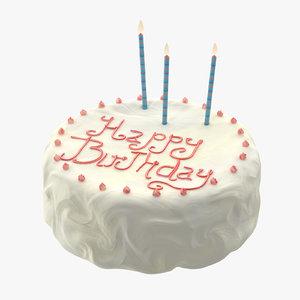 cake 01 3d model
