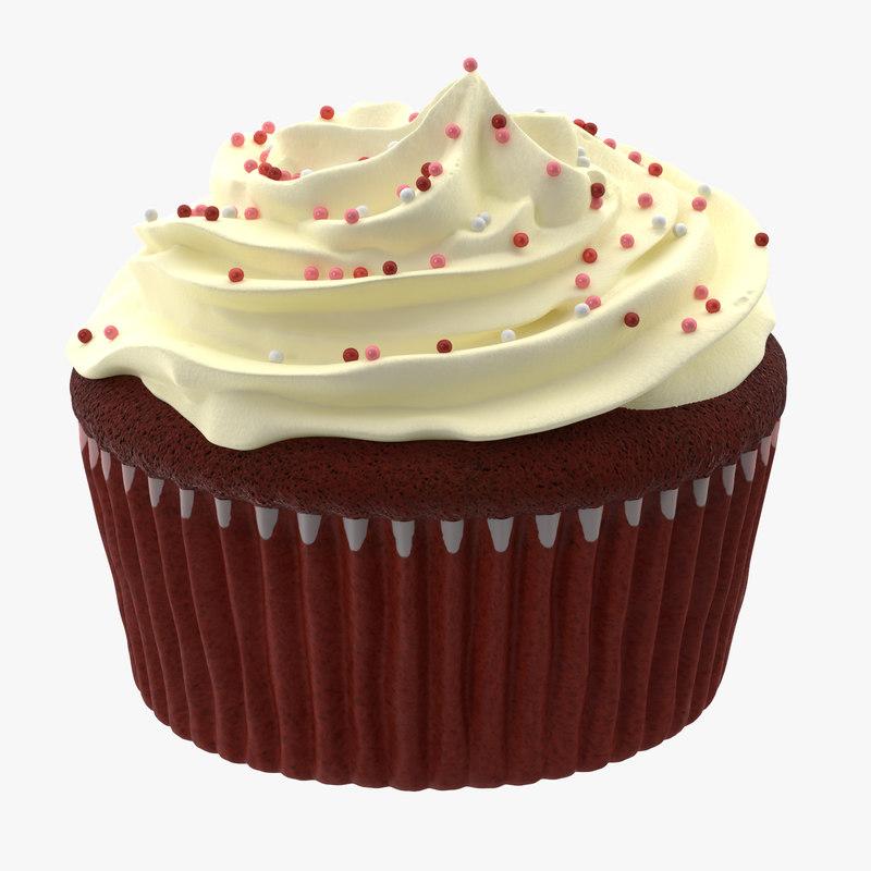cupcake 03 3d model