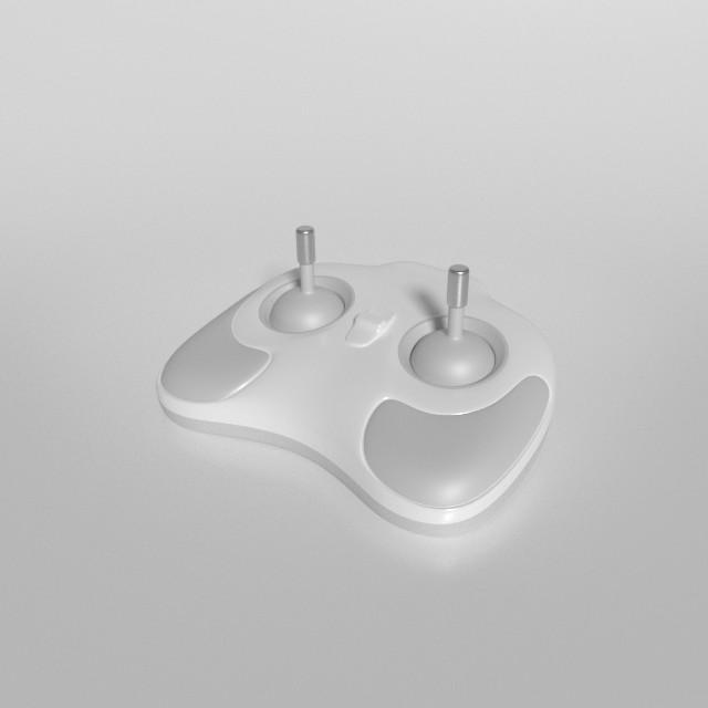 3d model of video joystick