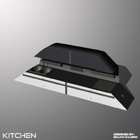 3d obj andromeda kitchen