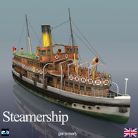3d steamship time model