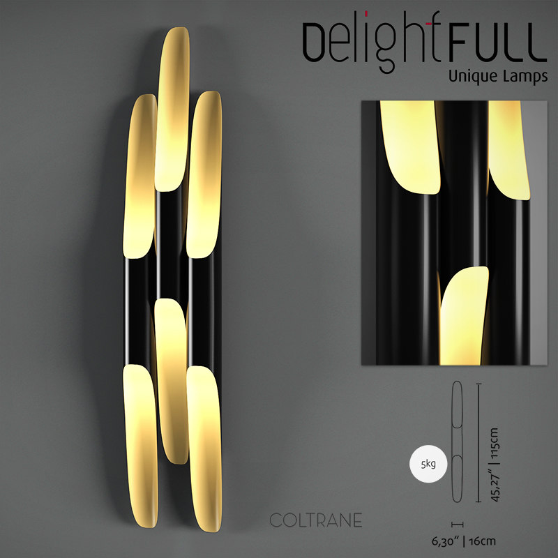 3d delightfull coltrane wall