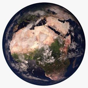 3d model planet earth 21k