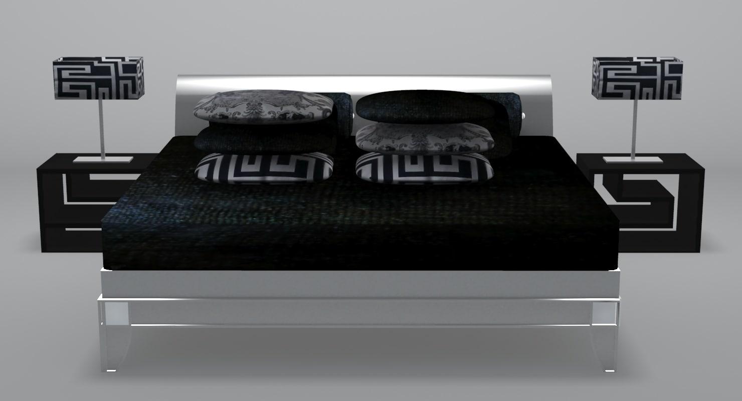 Pasha Bed 3d Max # Muebles Versace