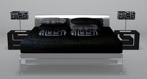versace pasha bed 3d max