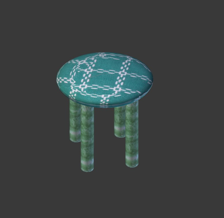 chair obj