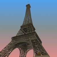 eiffel tower 3d dxf