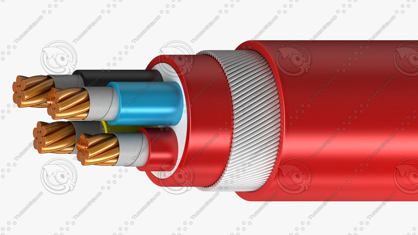 Electrical wire model wiring diagram electrical cables lshf insulated 3d model electrical wire gauge size chart electrical wire model keyboard keysfo Images
