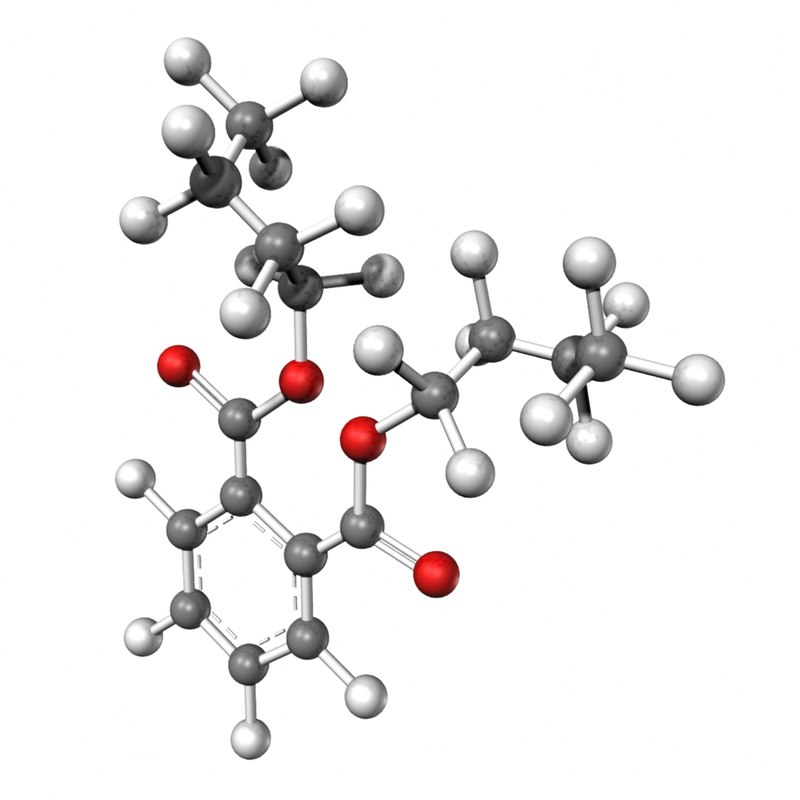 dibutyl phthalate 3d obj