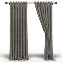 Curtains with eyelets