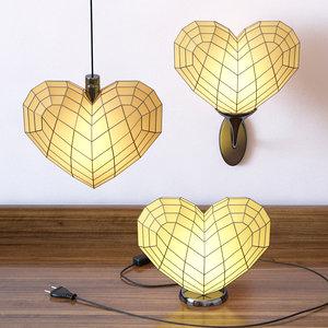 heart light set 3d max