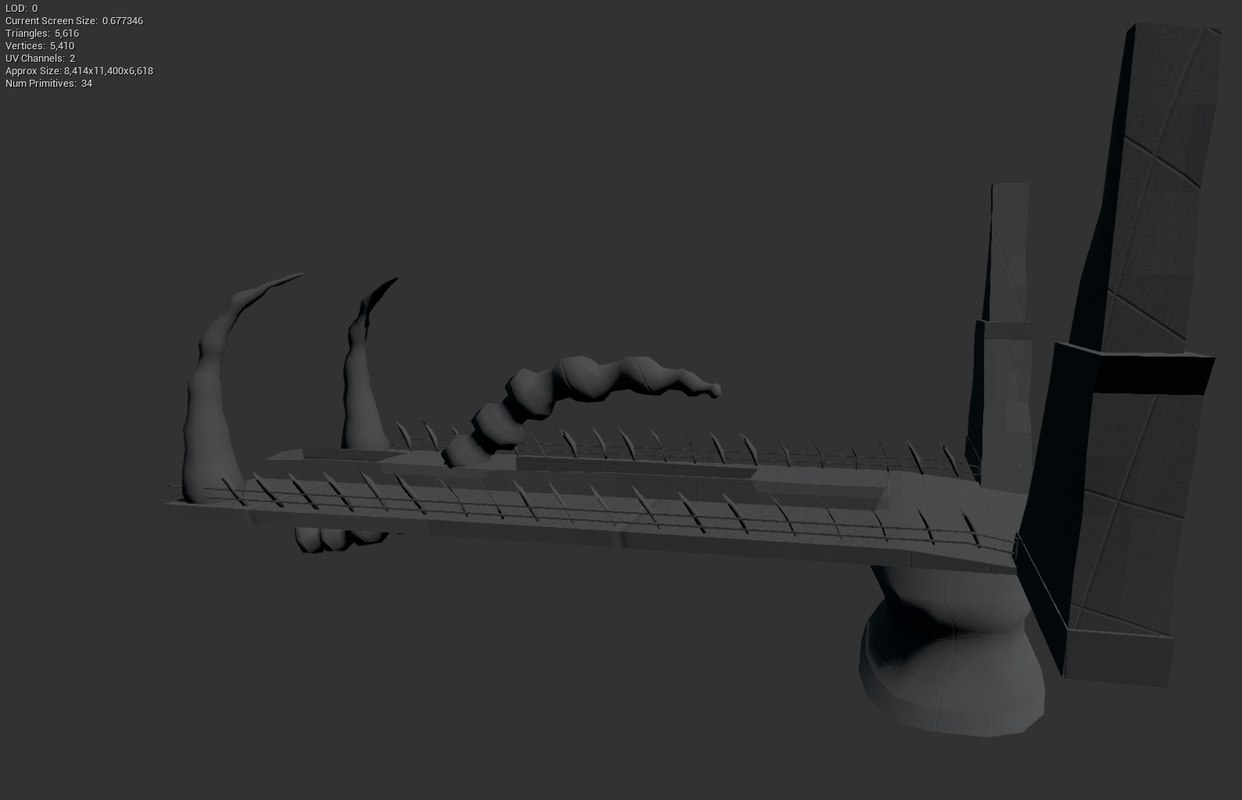 bridge construction 3d model