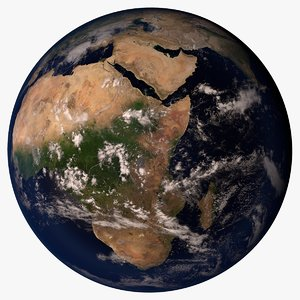 planet earth 32k c4d