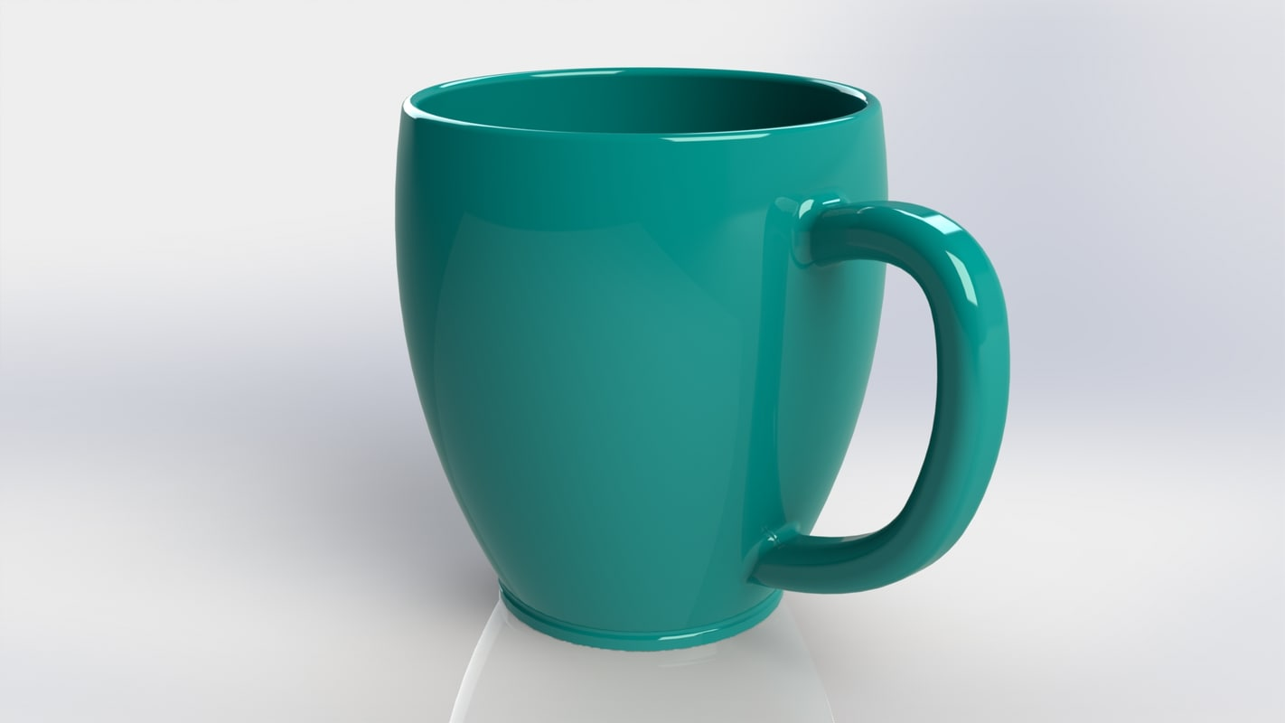 3d model cup solidworks sldprt