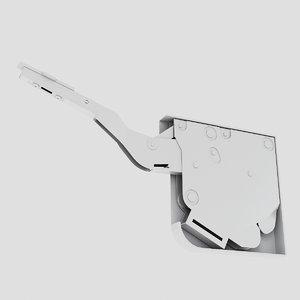 3d hardware furniture model