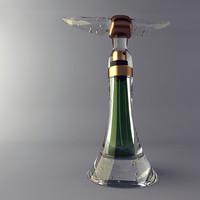 perfume 3d model