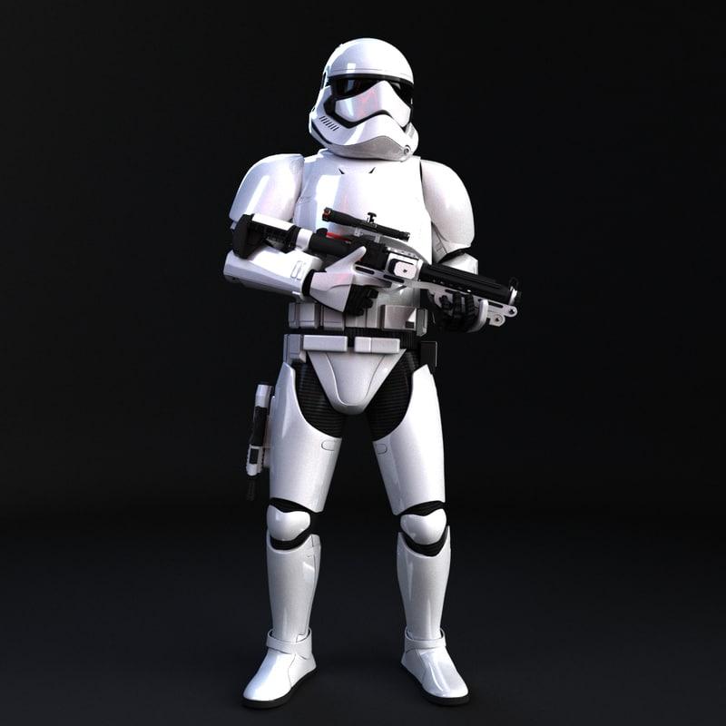 3d storm trooper order