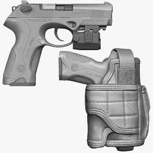 3d 3ds beretta px4 storm holster